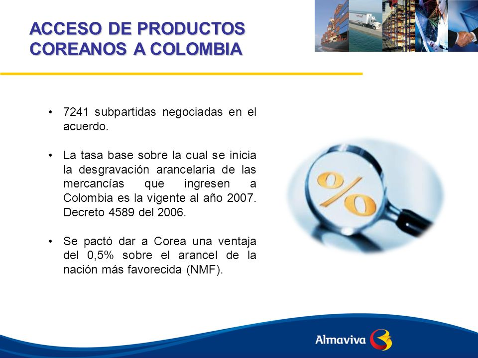 ACCESO DE PRODUCTOS COREANOS A COLOMBIA