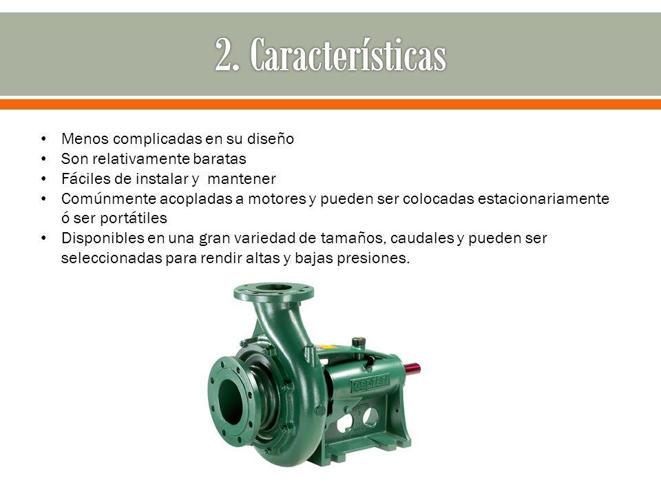 2. Características Menos complicadas en su diseño