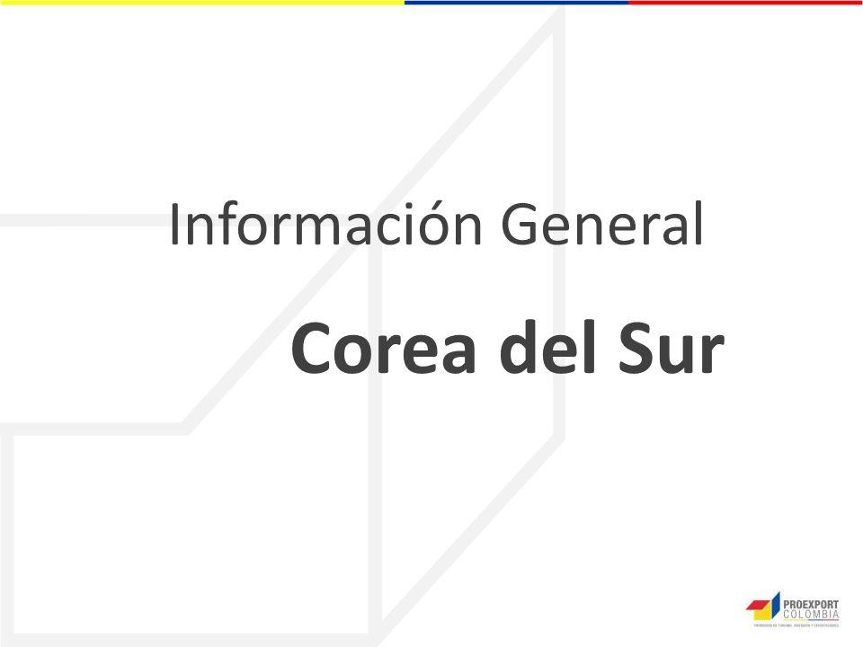 Información General Corea del Sur
