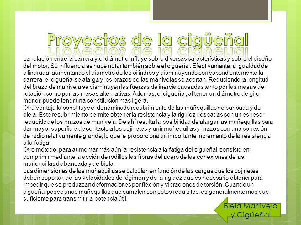 Proyectos de la cigüeñal
