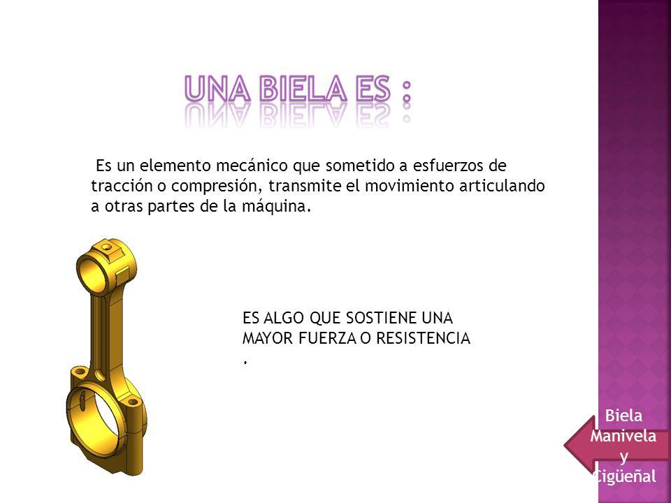 Biela Manivela y Cigüeñal
