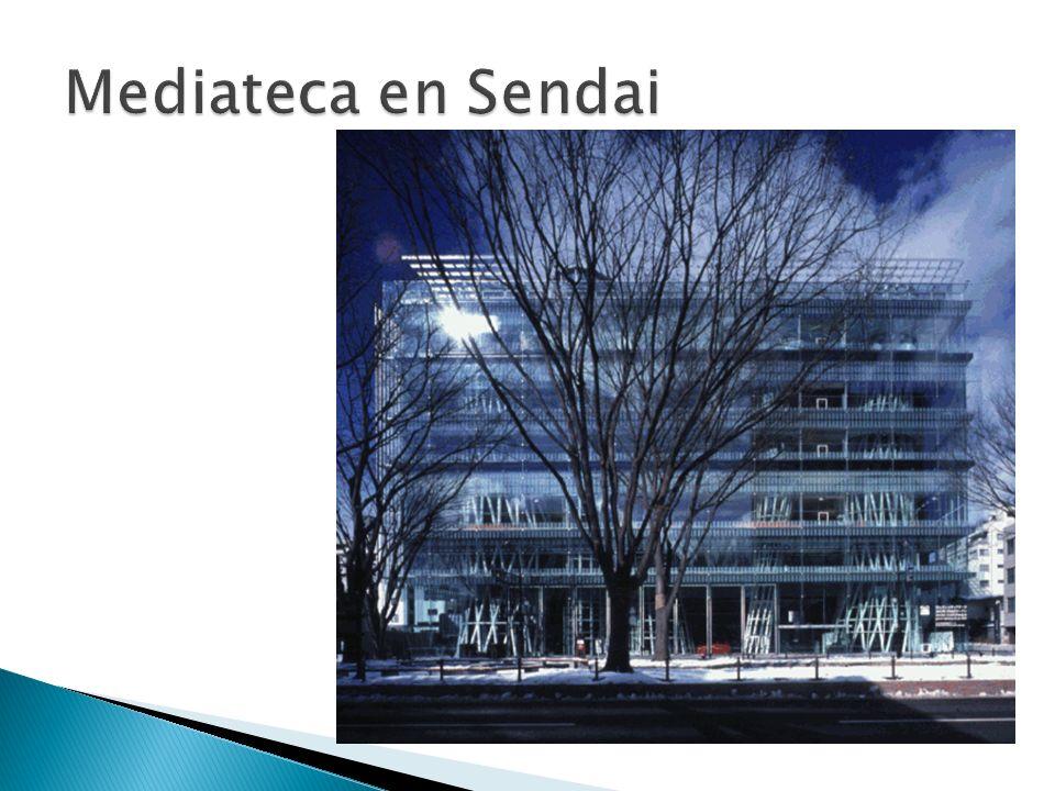 Mediateca en Sendai