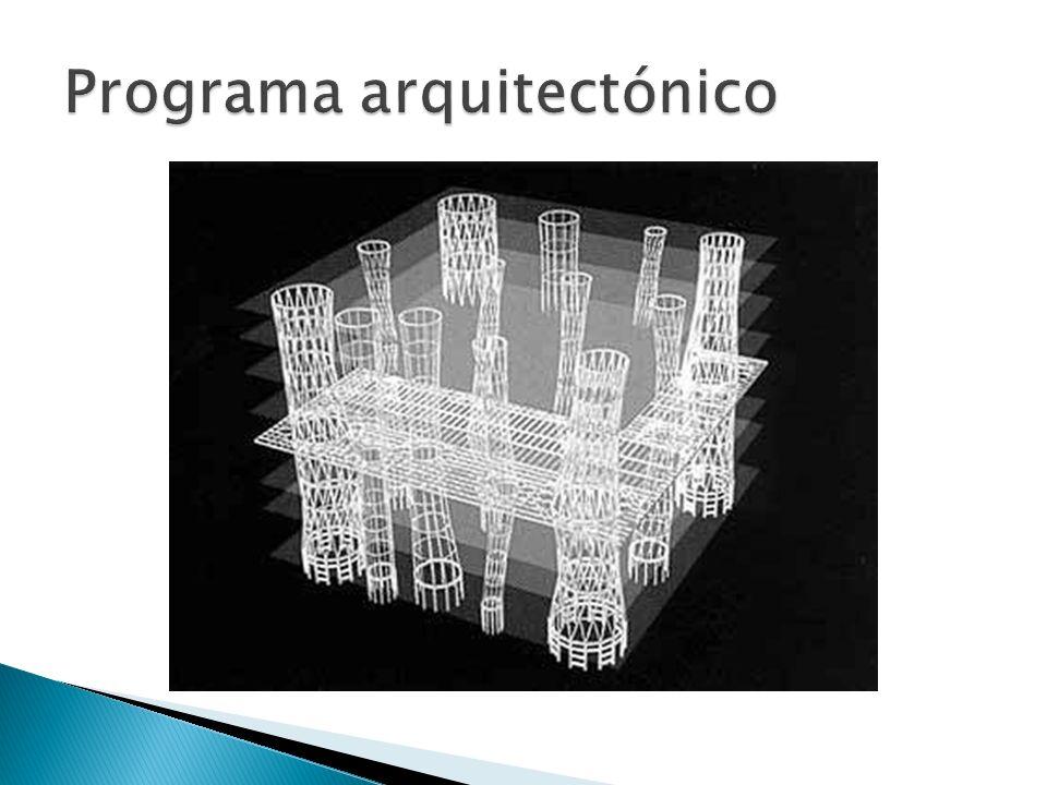 Programa arquitectónico