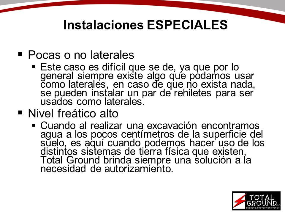 Instalaciones ESPECIALES