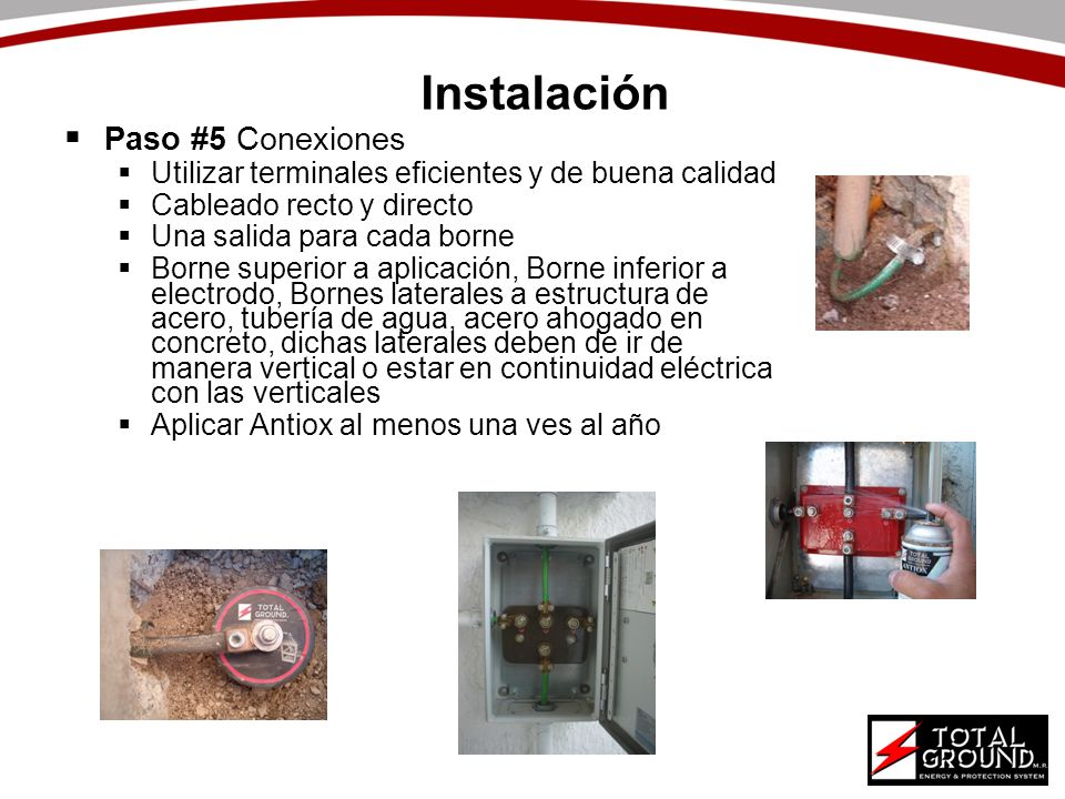 Instalación Paso #5 Conexiones