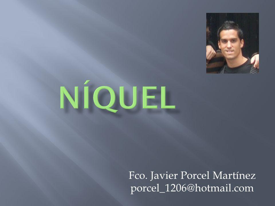 Fco. Javier Porcel Martínez porcel_1206@hotmail.com