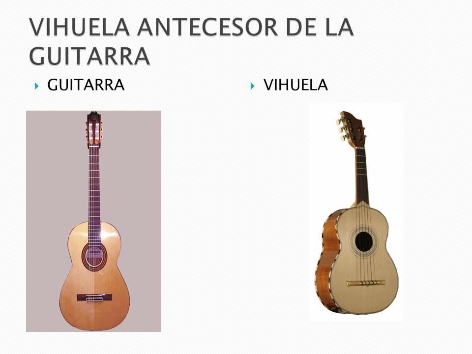 VIHUELA ANTECESOR DE LA GUITARRA
