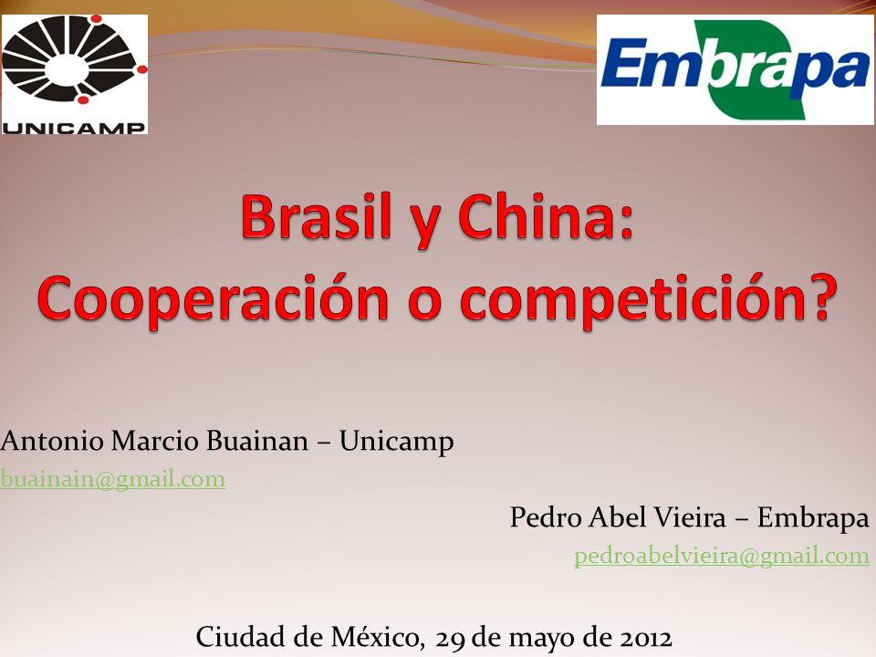 Brasil y China: Cooperación o competición