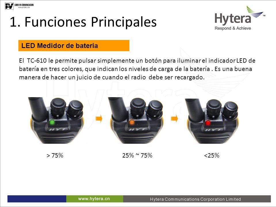 1. Funciones Principales
