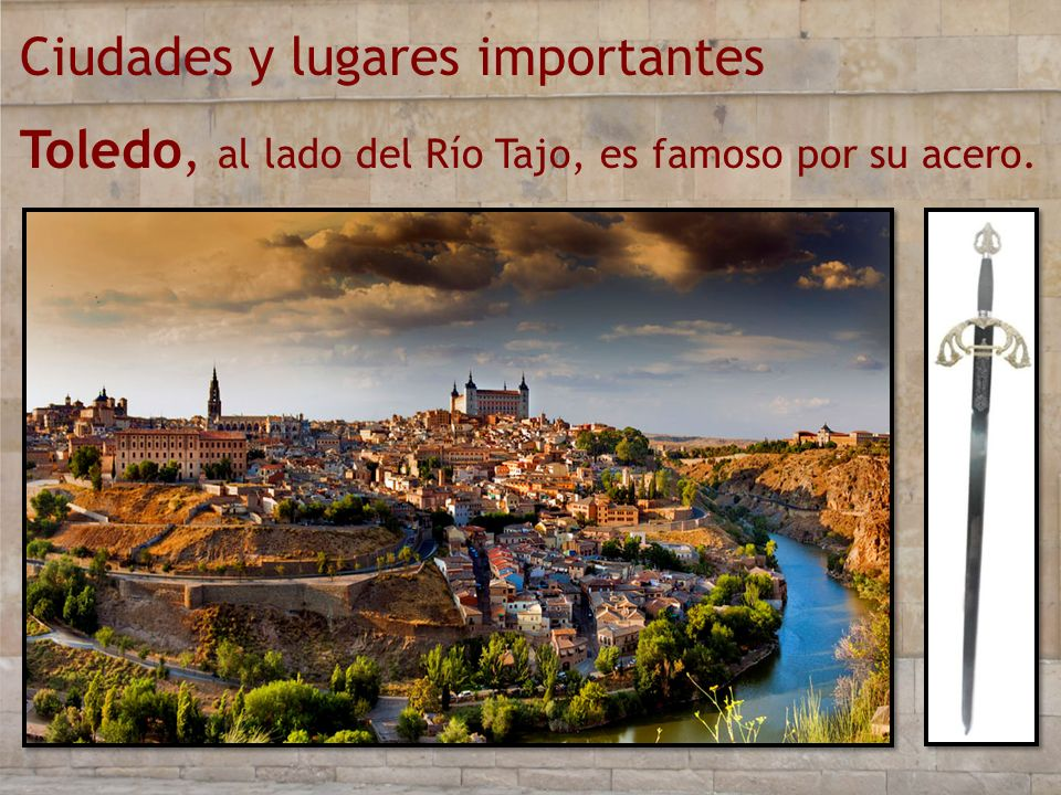 Ciudades y lugares importantes