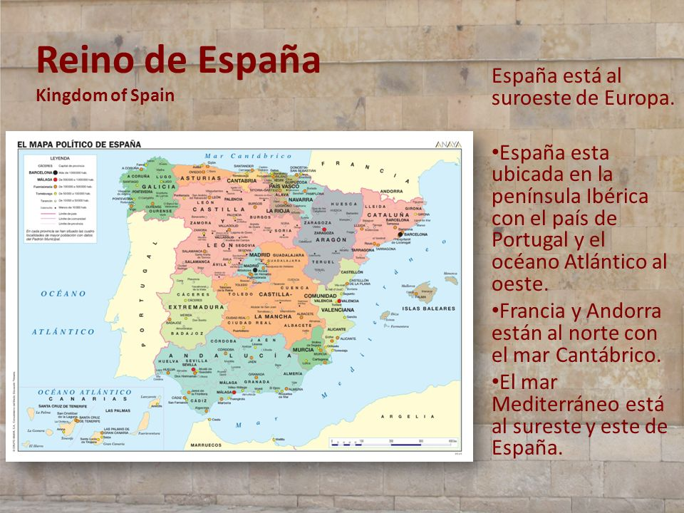 Reino de España Kingdom of Spain