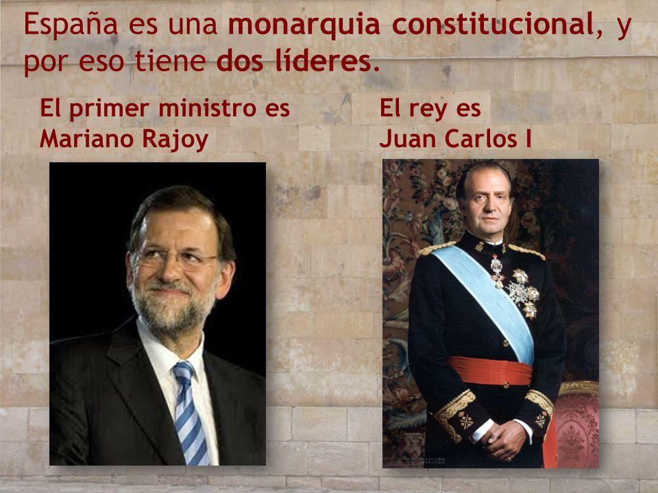 España es una monarquia constitucional, y por eso tiene dos líderes.
