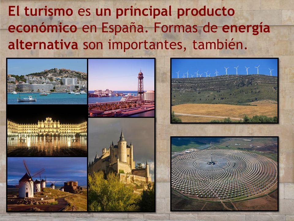 El turismo es un principal producto económico en España
