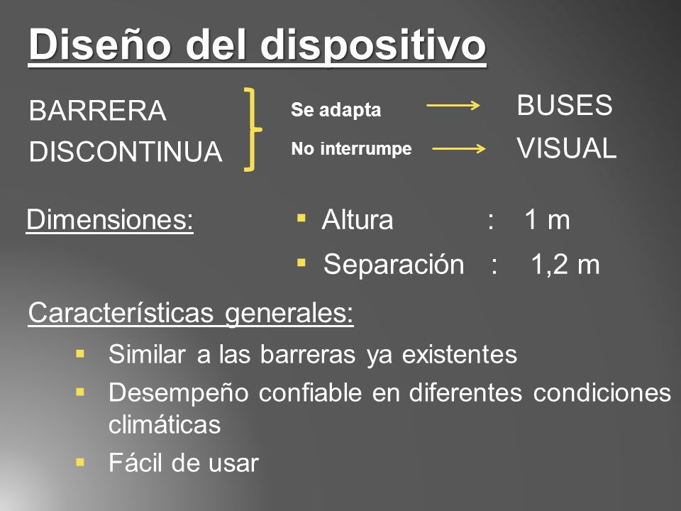 Diseño del dispositivo