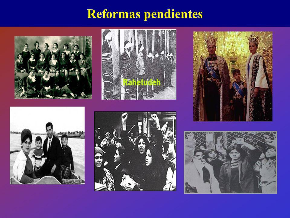 Reformas pendientes