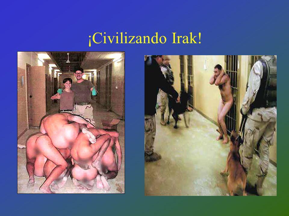 ¡Civilizando Irak!