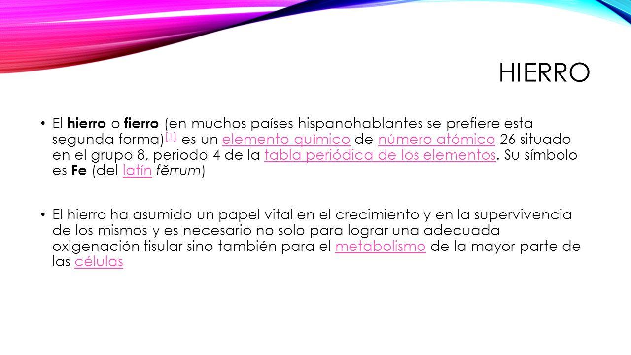 Tema examen final parte 2 quimica farmaceutica ppt video online hierro urtaz Images