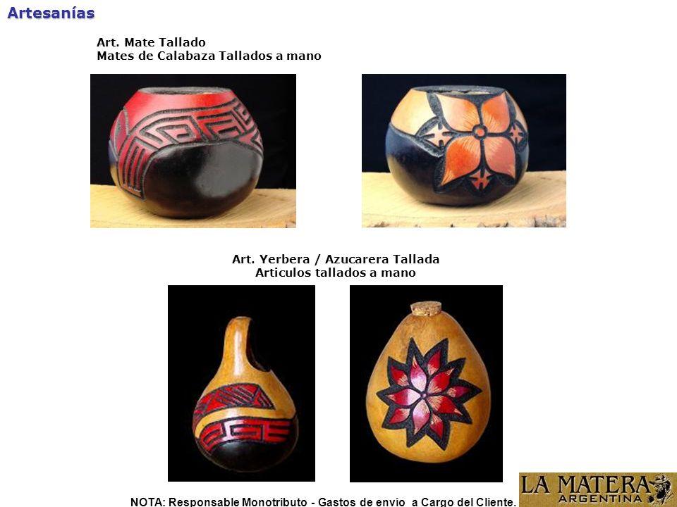Artesanías Art. Mate Tallado Mates de Calabaza Tallados a mano