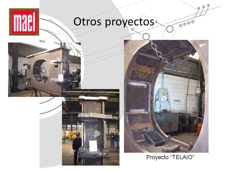 Otros proyectos Proyecto TELAIO