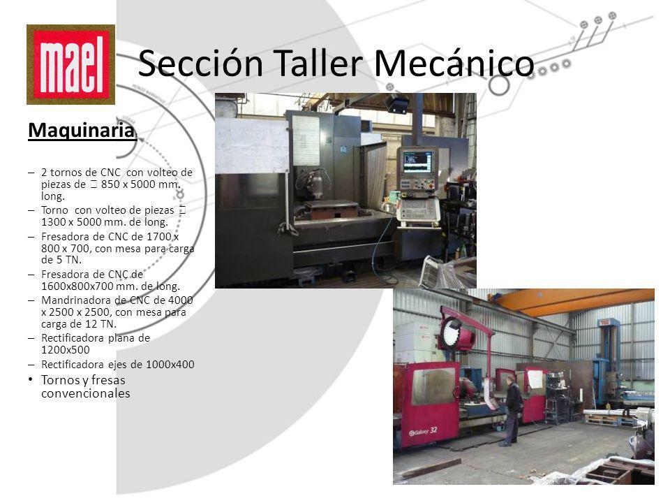 Sección Taller Mecánico