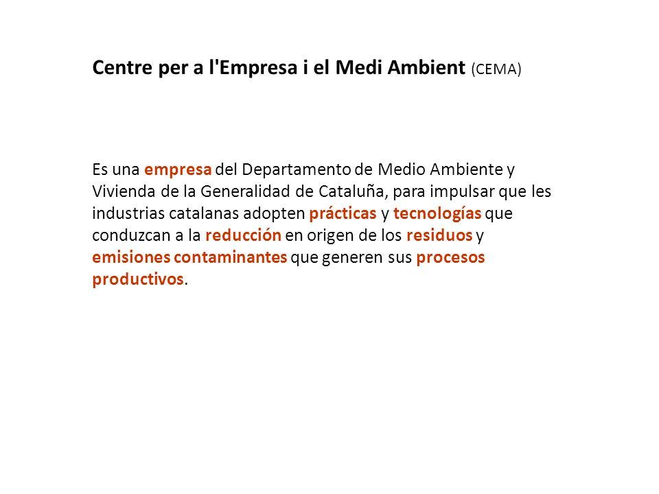 Centre per a l Empresa i el Medi Ambient (CEMA)
