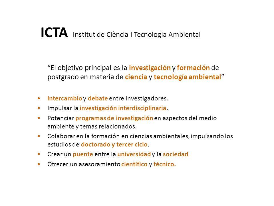 ICTA Institut de Ciència i Tecnologia Ambiental