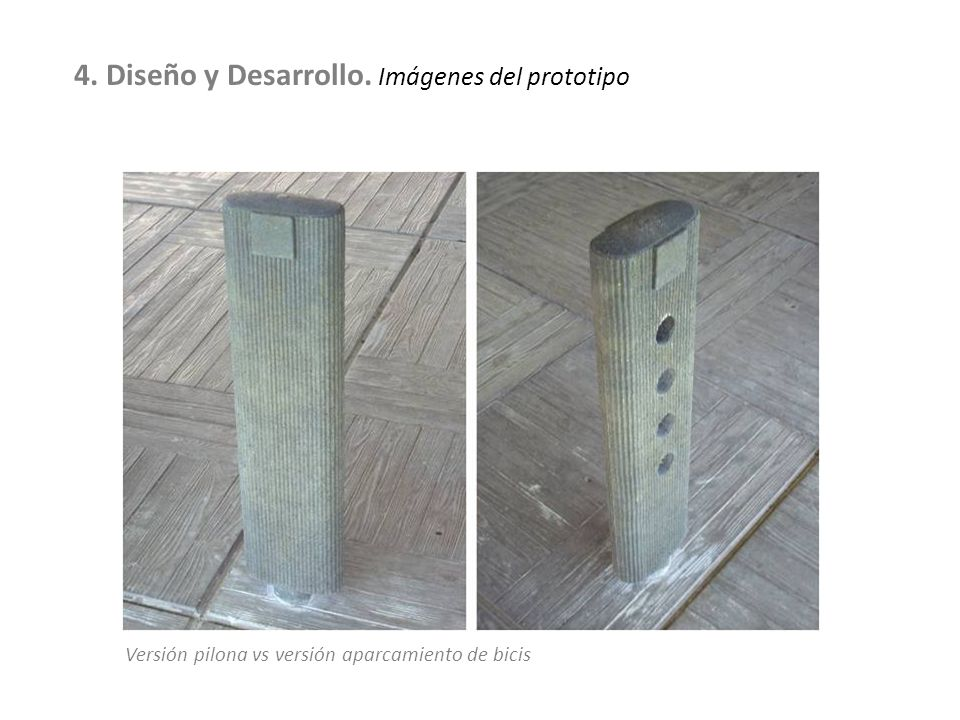 4. Diseño y Desarrollo. Imágenes del prototipo