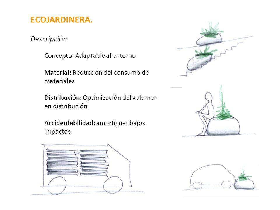 ECOJARDINERA. Descripción Concepto: Adaptable al entorno