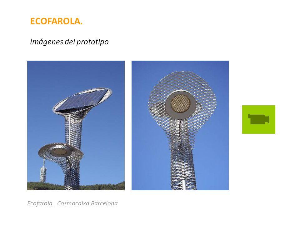 ECOFAROLA. Imágenes del prototipo Ecofarola. Cosmocaixa Barcelona