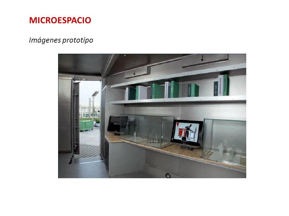 MICROESPACIO Imágenes prototipo