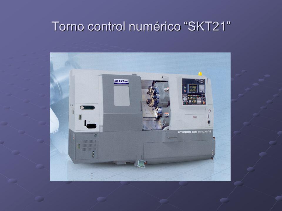 Torno control numérico SKT21