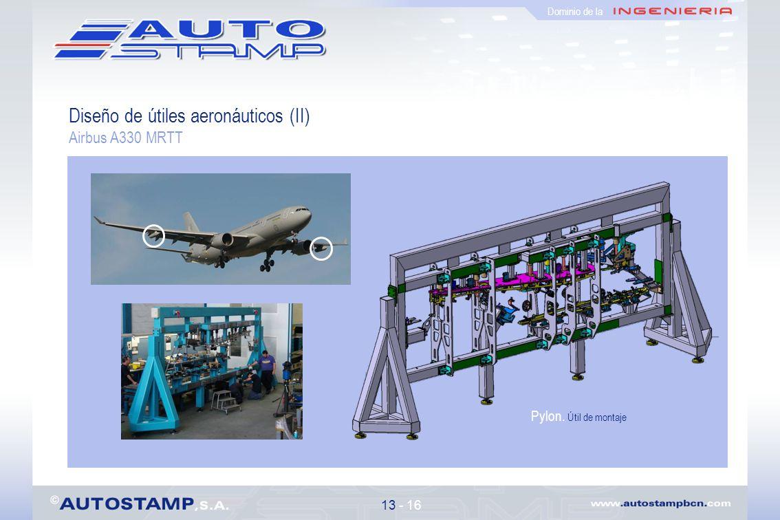 Diseño de útiles aeronáuticos (II)