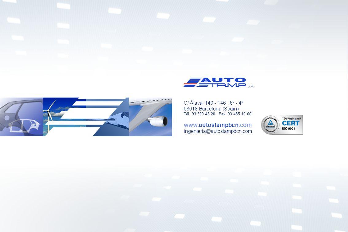 www.autostampbcn.com C/ Álava 140 - 146 6º - 4ª