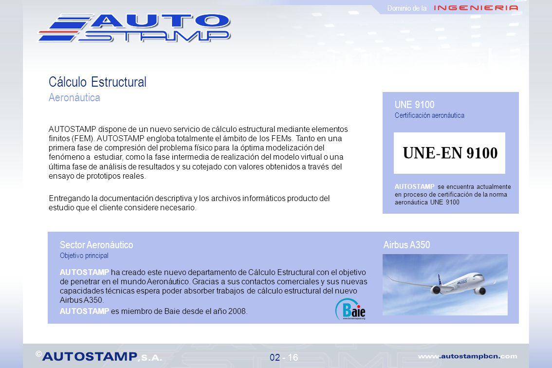 Cálculo Estructural Aeronáutica UNE 9100 Sector Aeronáutico