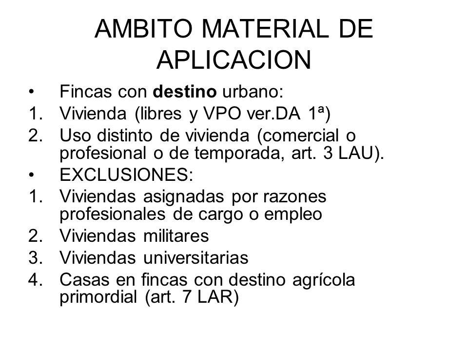 AMBITO MATERIAL DE APLICACION