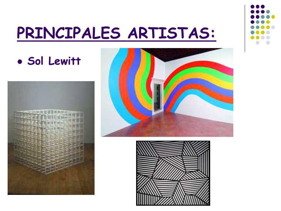 PRINCIPALES ARTISTAS: