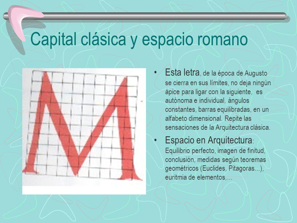 Capital clásica y espacio romano