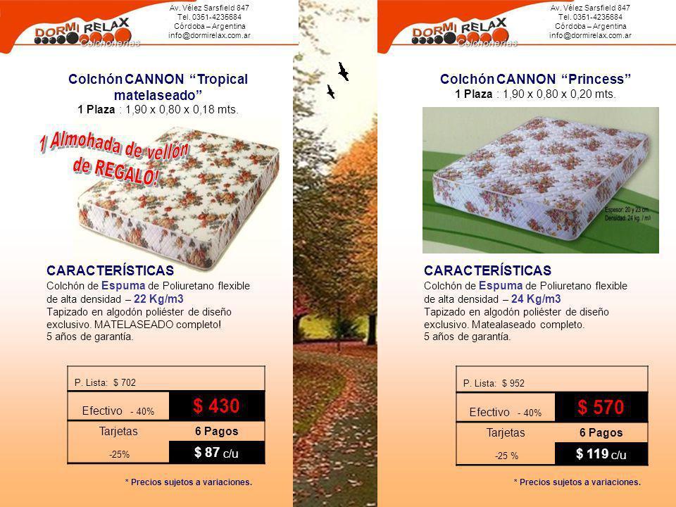 1 Almohada de vellón de REGALO! $ 570 $ 430