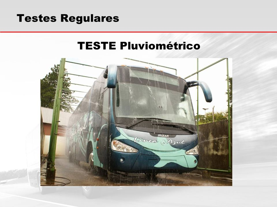 Testes Regulares TESTE Pluviométrico
