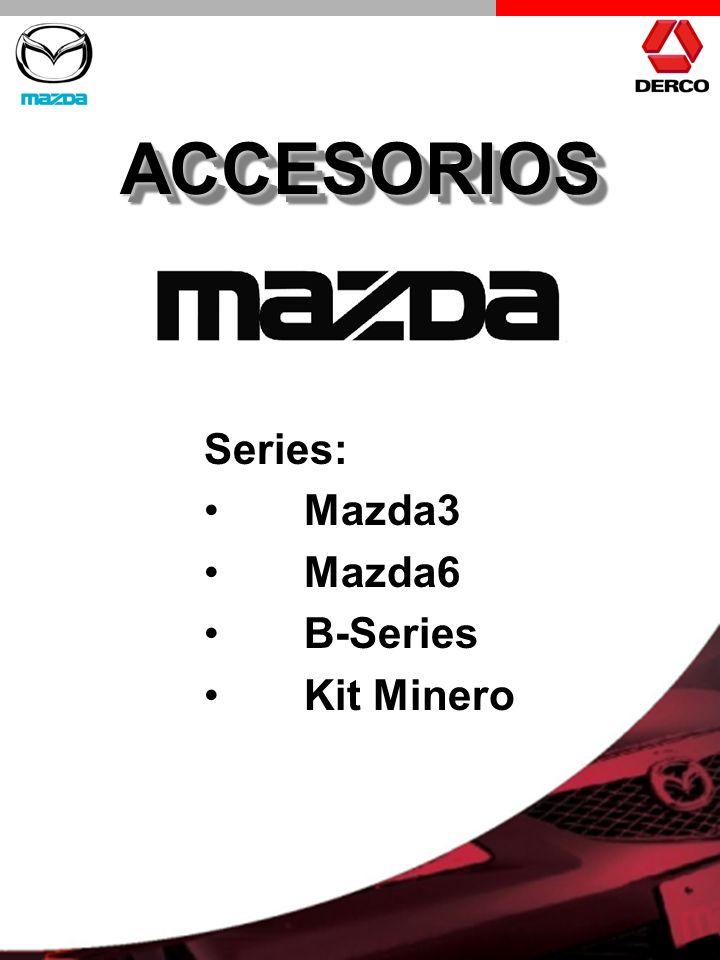 ACCESORIOS Series: Mazda3 Mazda6 B-Series Kit Minero