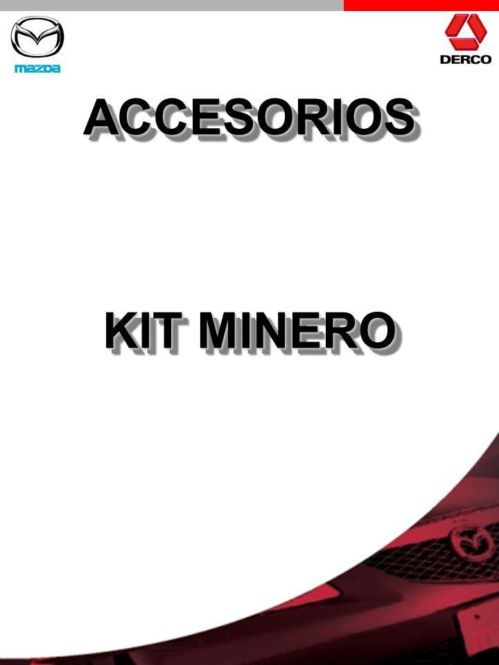 ACCESORIOS KIT MINERO