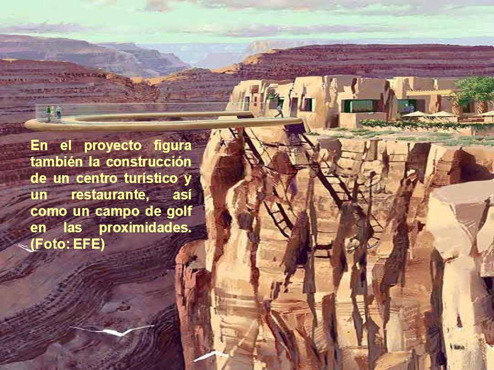 En el proyecto figura también la construcción de un centro turístico y un restaurante, así como un campo de golf en las proximidades.