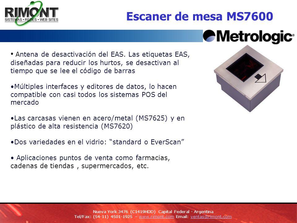 Escaner de mesa MS7600