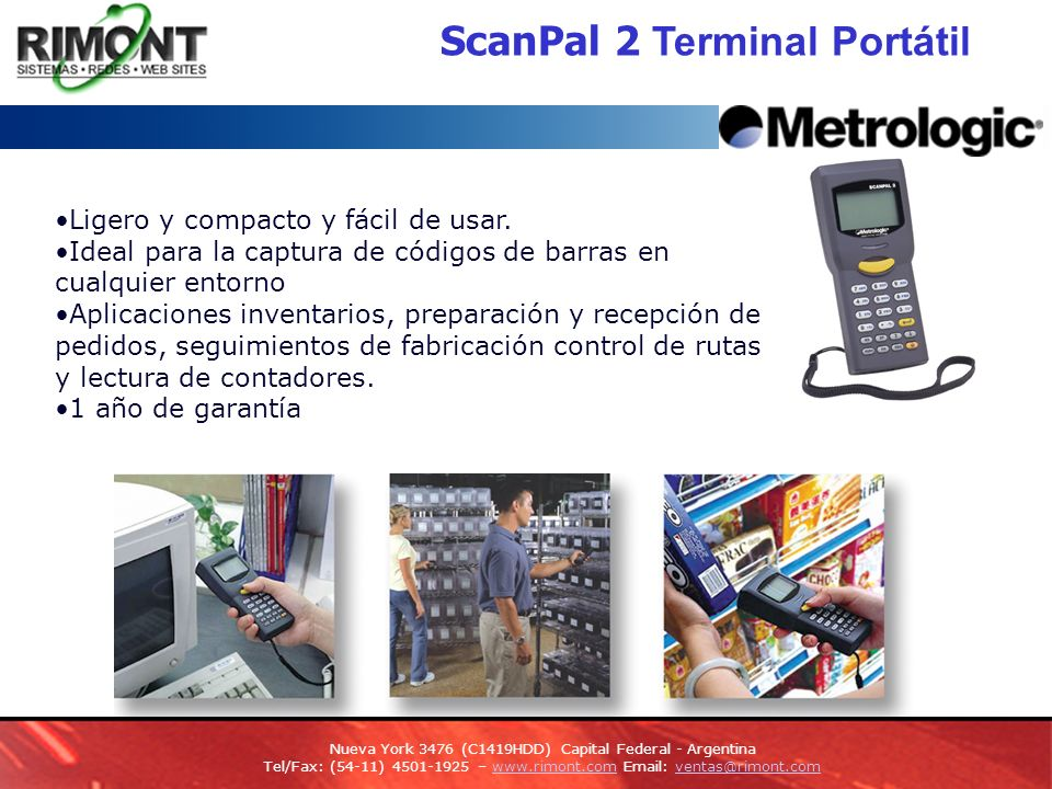 ScanPal 2 Terminal Portátil