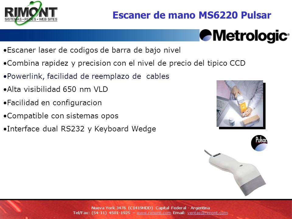 Escaner de mano MS6220 Pulsar