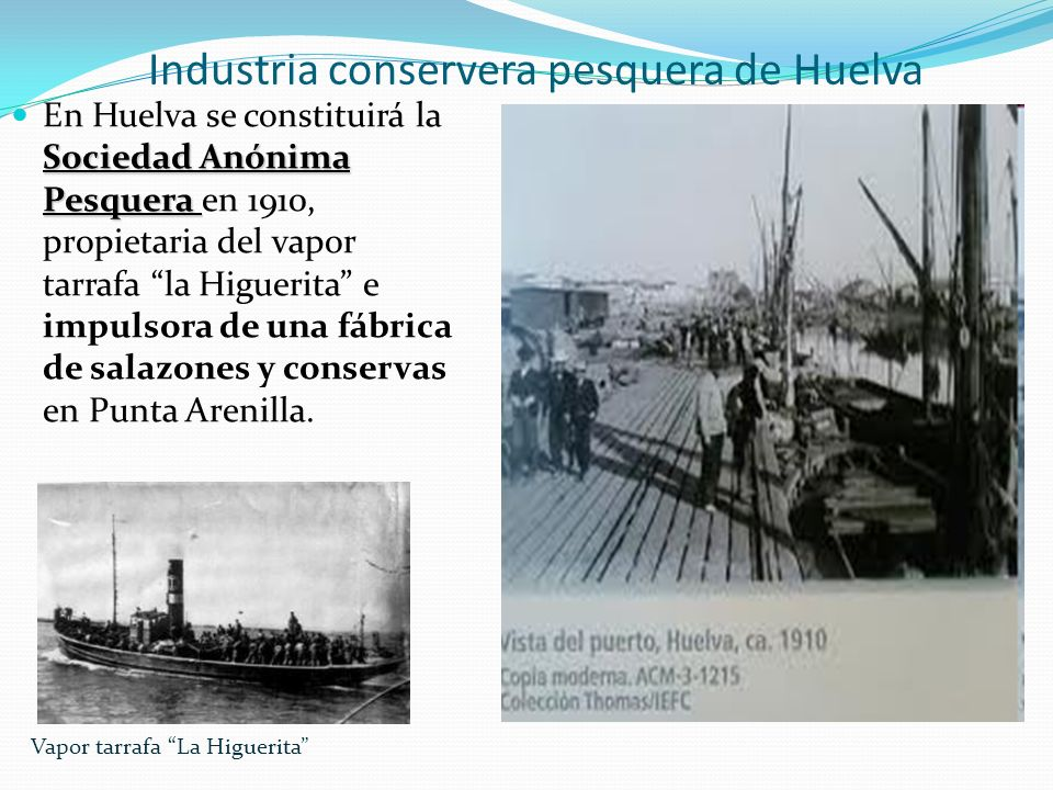 Industria conservera pesquera de Huelva