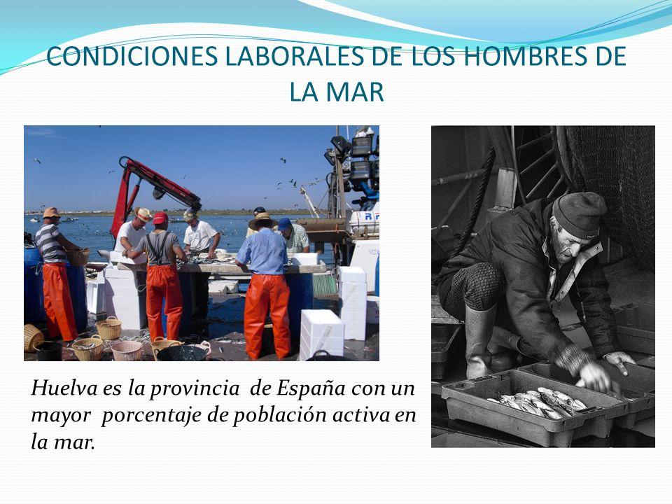 CONDICIONES LABORALES DE LOS HOMBRES DE LA MAR