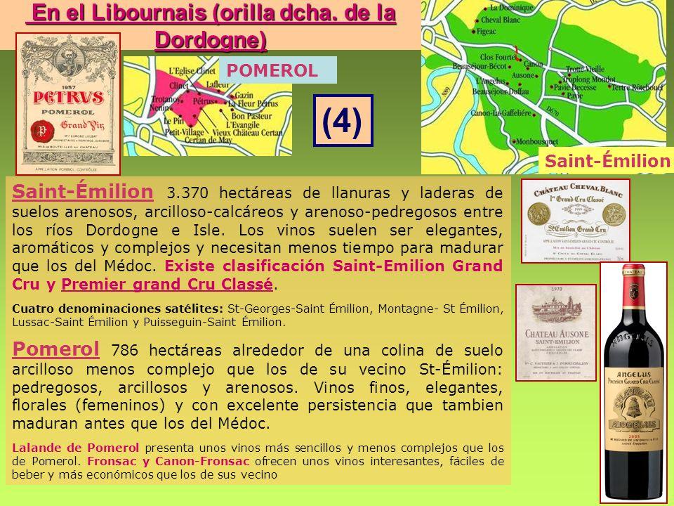 En el Libournais (orilla dcha. de la Dordogne)