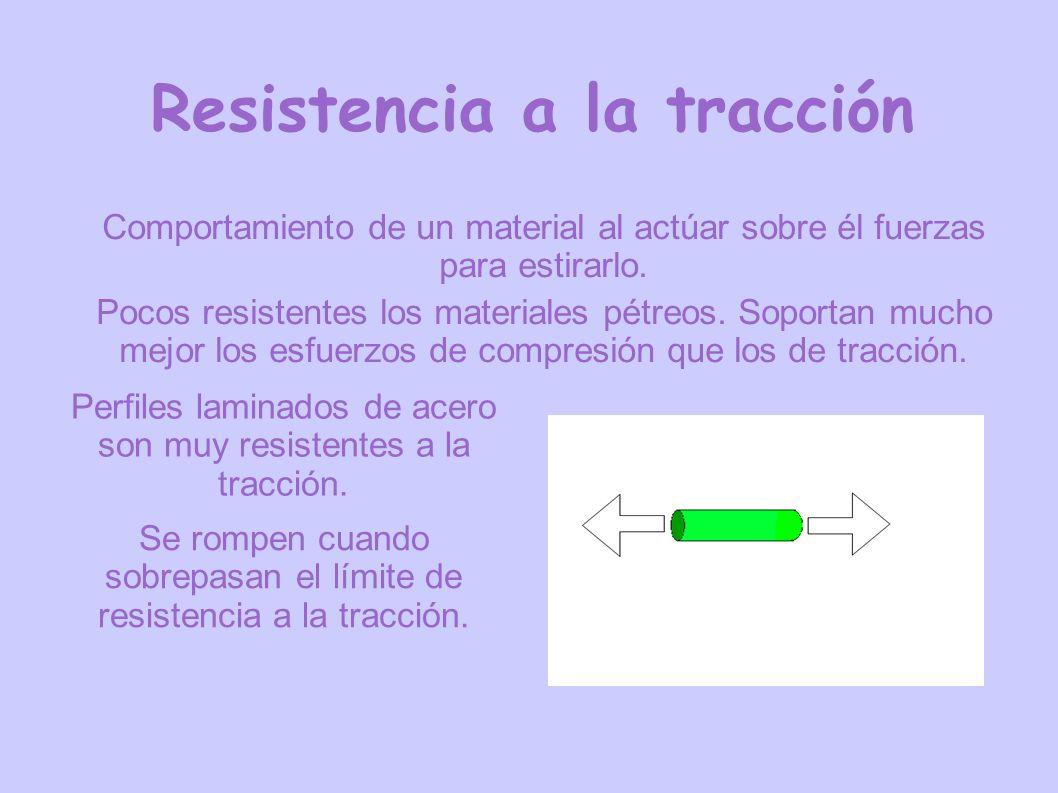 Resistencia a la tracción