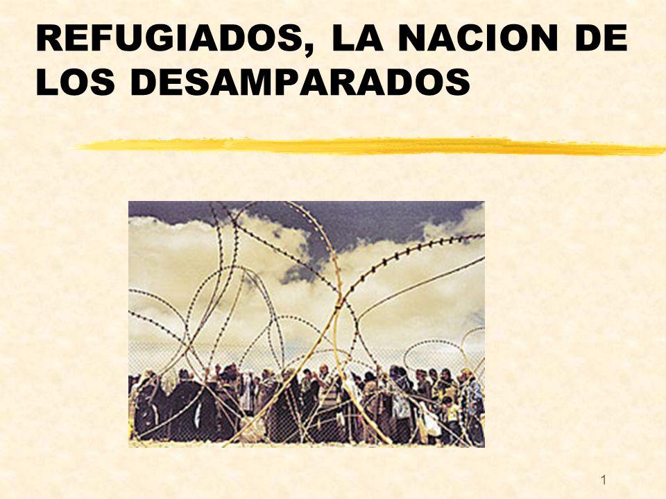 REFUGIADOS, LA NACION DE LOS DESAMPARADOS